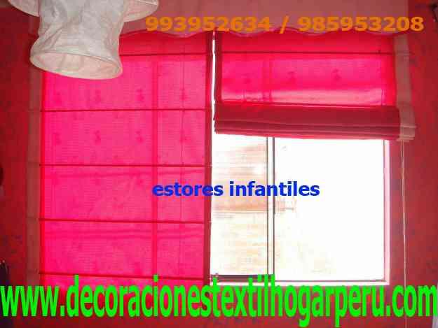 Estores para ni os infantiles 604 0750 993952634 - Cortinas store infantiles ...