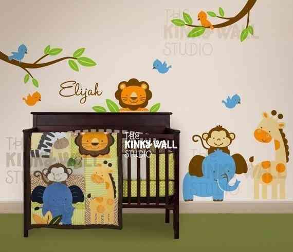 Cenefa animalitos para habitacion de un beb imagui - Cenefa habitacion bebe ...