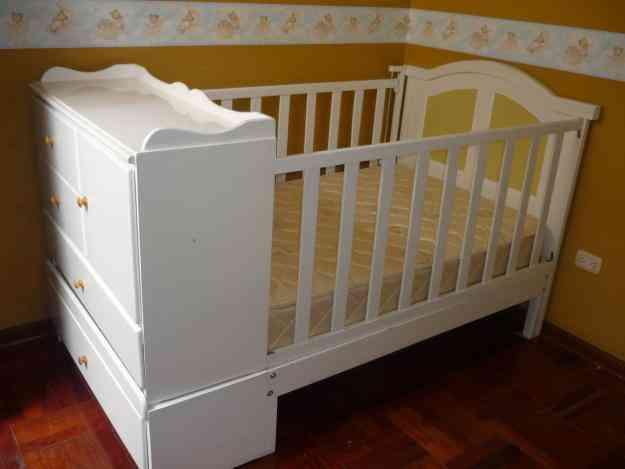 Vendo cama cuna casi nueva 1 1 2 plaza s for Vendo sofa cama 1 plaza
