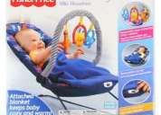 silla mecedora bouncer vibradora fisher price en caja