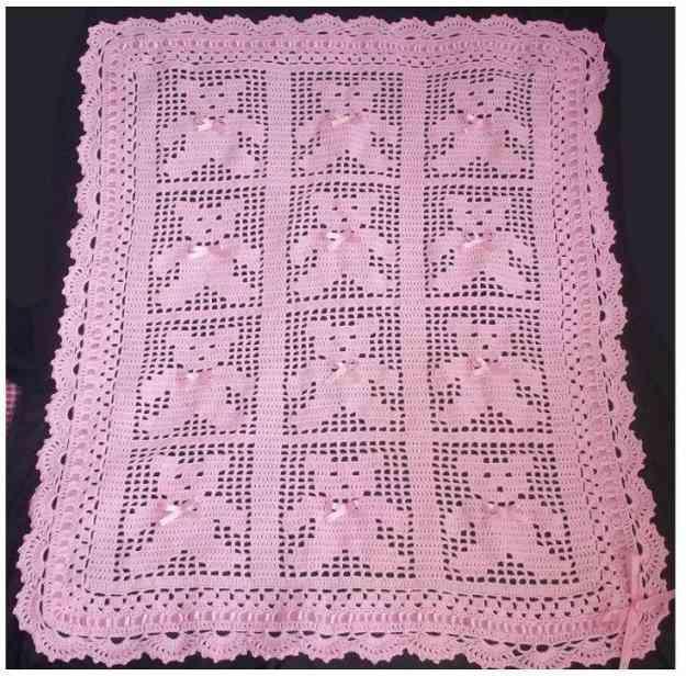 Bebe crochet regalos para baby shower bagua grande - Colchas ganchillo bebe ...
