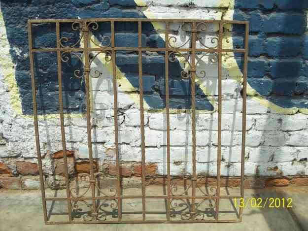 Rejas de hierro forjado antiguas lima colecciones antiguedades - Rejas hierro forjado ...