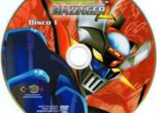 Dibujo mazinger z, audio español latino voces originales (20 dvds)