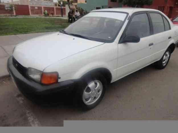 Toyota tercel nacional 96 $ 6,200 USD