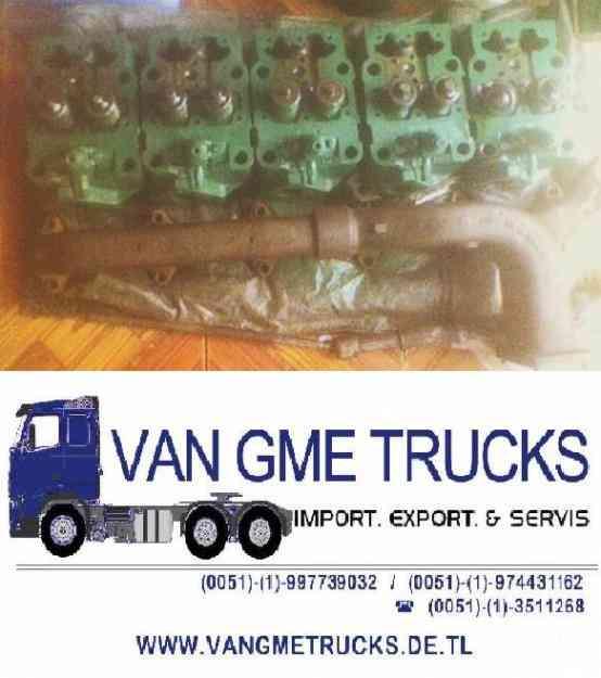Volvo volquete tracto camion repuestos 5 culatas n1020 td100a S/. 169