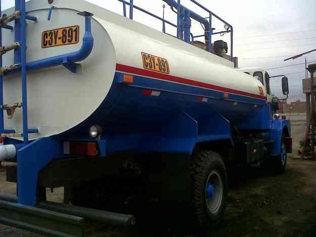 Camiones cisternas de agua precios for Cisterna de agua precio