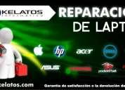 Tecnicos expertos en reparar laptops hp compaq, toshiba, sony, apple