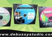 Servicio de  grabacion  y multicopiados de cd's -dvd's impresion