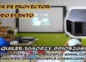 alquiler de proyector multimedia lima,peru,s/60.00