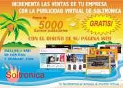 DiseÑo web: dominio, hosting, publicidad internet