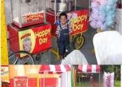 Alquilamos carrito de popcorn y algodon happy day x fiestas y eventos infantiles 824*0203