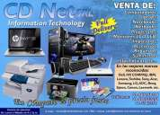 Cdnet srl ventas de computadoras laptops netbooks lcd impresoras suministros informáticos