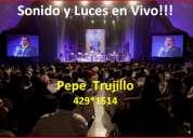 sonido en vivo!!! conciertos y eventos pantallas led 3x2 y 3x4