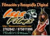 Filmación y fotografía digital - isis films perÚ, tus eventos en dvd...