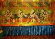 decoraciones de fiestas infantiles , de mundy y doky 402-4861