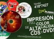 Impresión para cds
