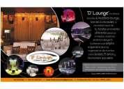 alquiler de zonas lounge para 15 aÑos ,cumpleaÑos , eventos sociales, sillones barras bar