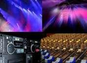 alquiler de equipo de sonido avm luces y sonido djs eventos bodas bautizos peru