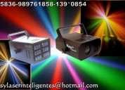 Alquiler de luces sicodelicas inteligentes laser sonido dj filmacion digital en lima