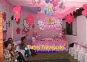 decoraciones tematicas para fiestas infantiles con dulces travesuras