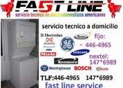 Mantenimiento de centro de lavado white westinghouse fast line service