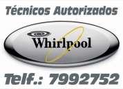 109*1335llame ya//tecnicos autorizados//whirpool///lavadoras///refrigeradoras