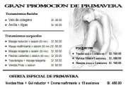 Yesoterapia lipolitica  - gran promocion de primavera