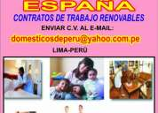 Trabajo en espaÑa`para empledas domÉsticas....contratos