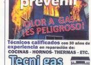 Reparacion de cocinas a gas