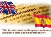 Traducciones : inglÉs - espaÑol / espaÑol- inglÉs