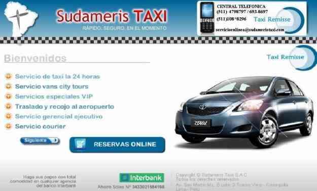 Taxi para el aeropuerto en LA MOLINA 479-8797 / 108*8296