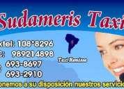 Empresa de taxi para el aeropuerto en san isidro 479-8797/108*8296