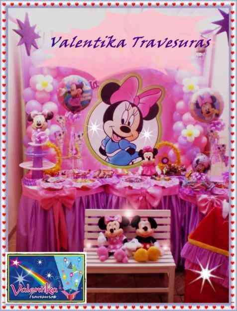 Minnie Decoraciones Para Fiestas ~ Decoraciones Para Fiestas De Minnie Mouse