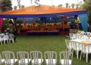 Los backayradigans en tu fiesta infantil -decoraciones tematicas en lima