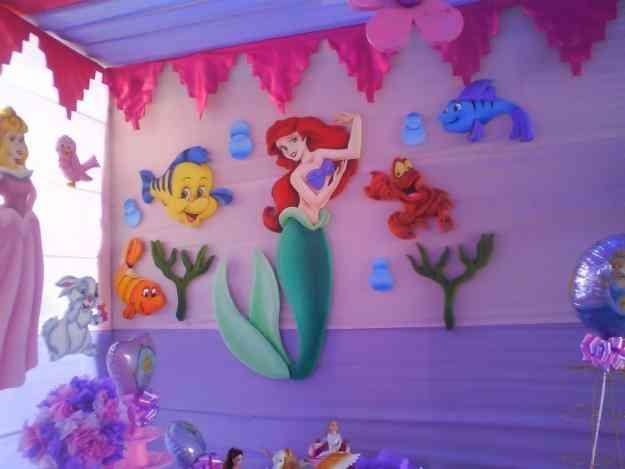Fiesta infantiles de princesa imagui - Decoraciones para fiestas ...