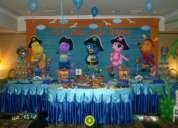 decoraciones para fiestas infantiles de princesas , minnie , barbie ,fresita en lima