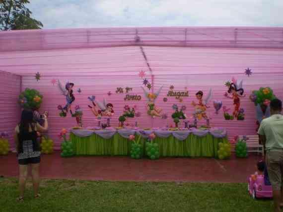Decoración parafiesta infantil de campanita - Imagui