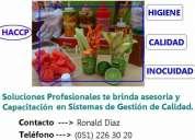 calidad de alimentos: análisis de peligros y puntos críticos de control - haccp