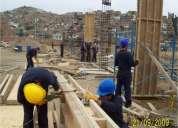 Construccion, acabados, demoliciones