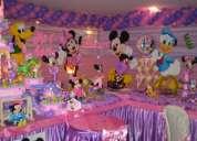 fiestas infantiles , de minie mouse y sus amigos , decoraciones tematicas /450-4413