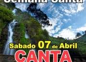 Semana santa full day en canta  ,,,, 07 de abril  explorando peru