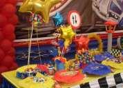 decoraciones de fiestas infantiles , hot whells ,sra. lidia 450-4413