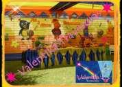 decoracion de fiestas infantiles , con los backyardigans - en lima