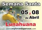 Full day de adrenalina canotaje , sol , vinos  lunahuana