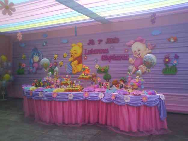 Eventos infantiles decoraciones de fiestas de winnie pooh for Decoracion winnie pooh para fiesta infantil