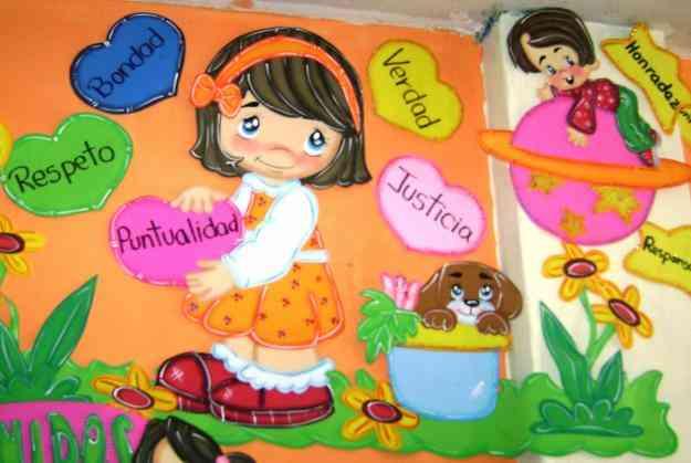 Trabajos en corrospum para niños - Imagui
