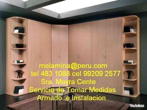 Curso de manualidades melamina armado e instalacion de for Melamina cursos gratis
