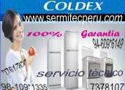 7378107 ½refrigeradoras y cocinas ◄coldex► reparacion en general