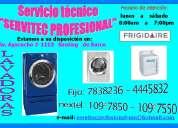 Servicio tecnico de lavadoras frigidaire 7265565 / 7838236