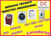 Servicio tÉcnico lavadoras daewoo lima  7265565